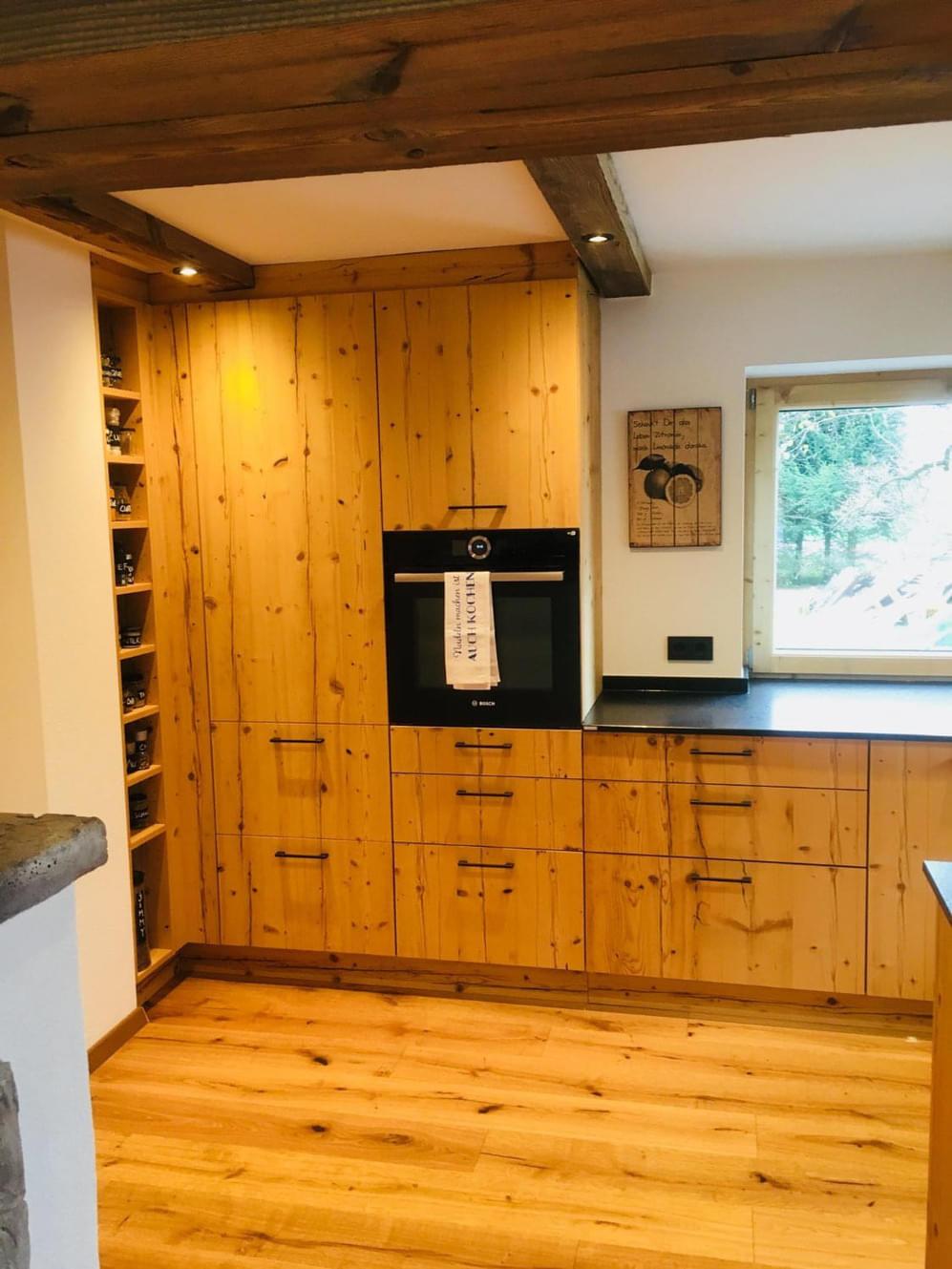 Küche - Fichte Altholz